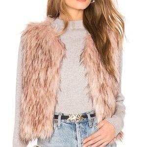 BB Dakota Barberella Faux Fur Vest